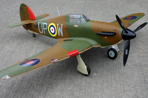 DYNAM HAWKER HURRICANE MKI 1270MM DYN8966